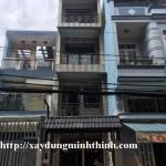 Xây nhà phố quận Tân Bình