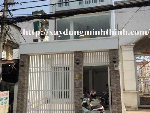 sửa nhà nâng tầng lầu quận Bình Thạnh