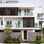 Nhà phố 3 tầng có sân vườn đẹp lung linh giữa Sài Gòn