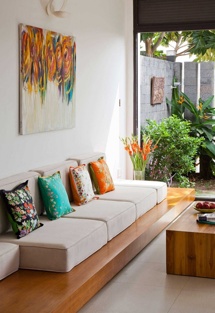 Nội thất ngôi nhà 2 tầng đẹp lung linh ở Sài Gòn