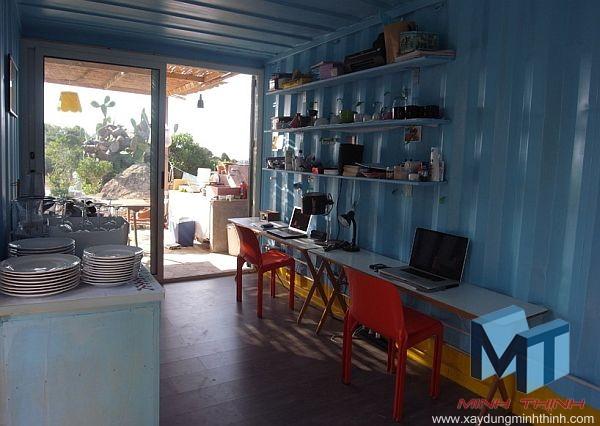 nhà container ở Việt Nam