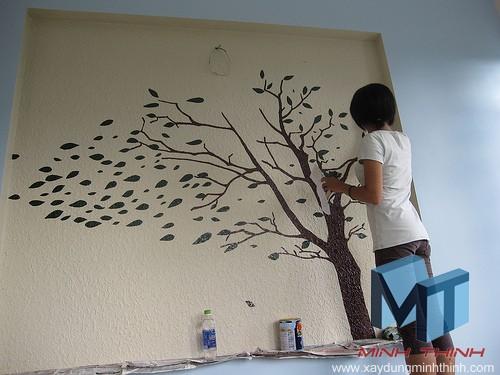 sơn nhà sao cho đẹp