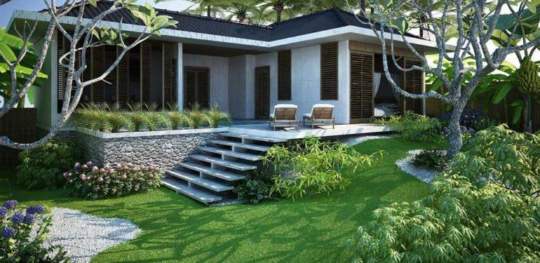 thiết kế nhà biệt thự vườn đẹp và hợp phong thủy