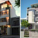Thiết kế nhà phố một mặt tiền đẹp