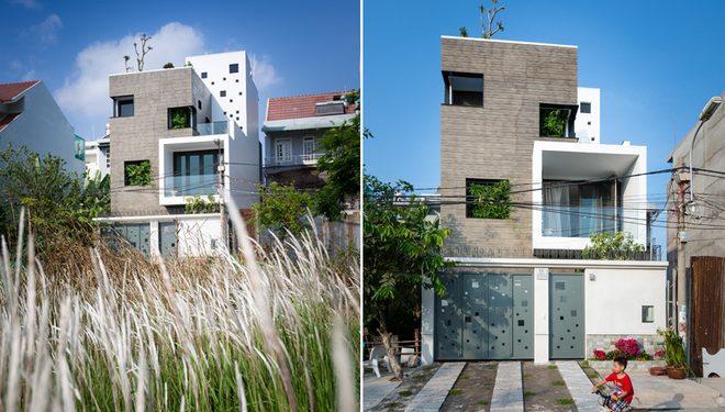 thiết kế nhà phố 2,3,4,5 tầng đẹp