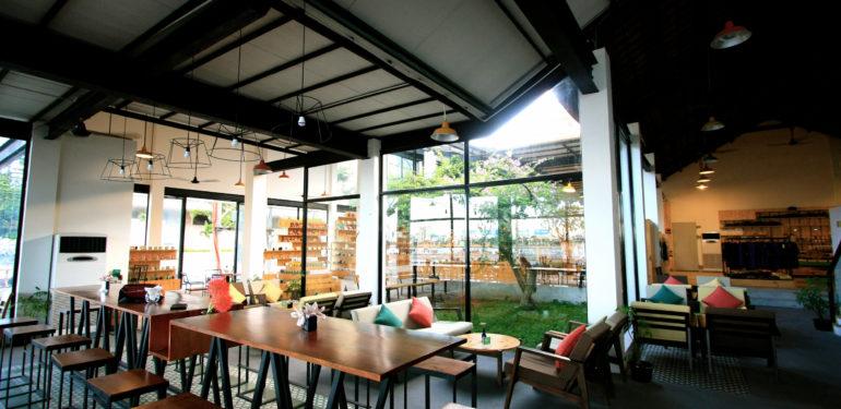 thiết kế quán cafe đẹp doanh thu tăng