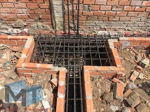 xây nhà phần thô quận 12