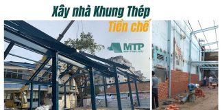 Xây nhà khung thép tiền chế TPHCM