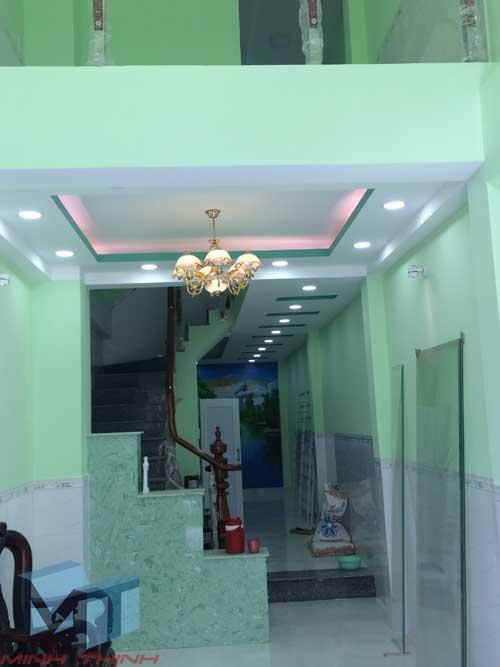 Xây nhà phần thô nhà cô thủy quận Phú Nhuận
