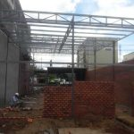 xây nhà khung thép