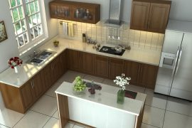 thiết kế nội thất nhà bếp
