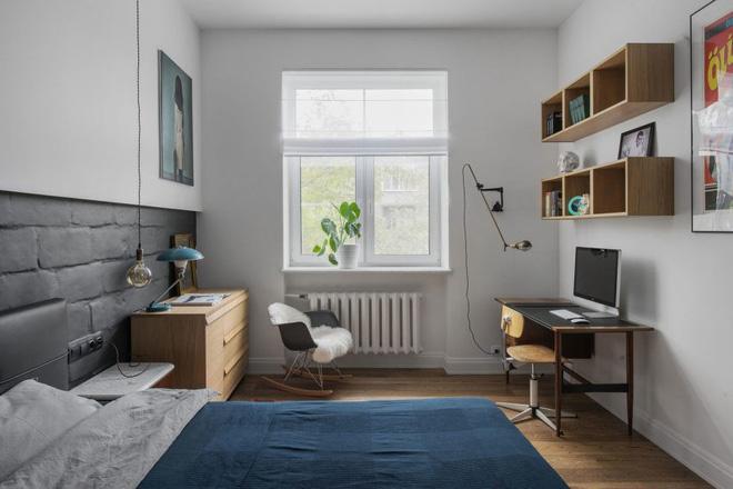 Cải tạo ngôi nhà thành ngôi nhà hiện đại màu sắc
