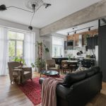 Cải tạo căn hộ từ ảm đảm thành không gian hiện đại màu sắc