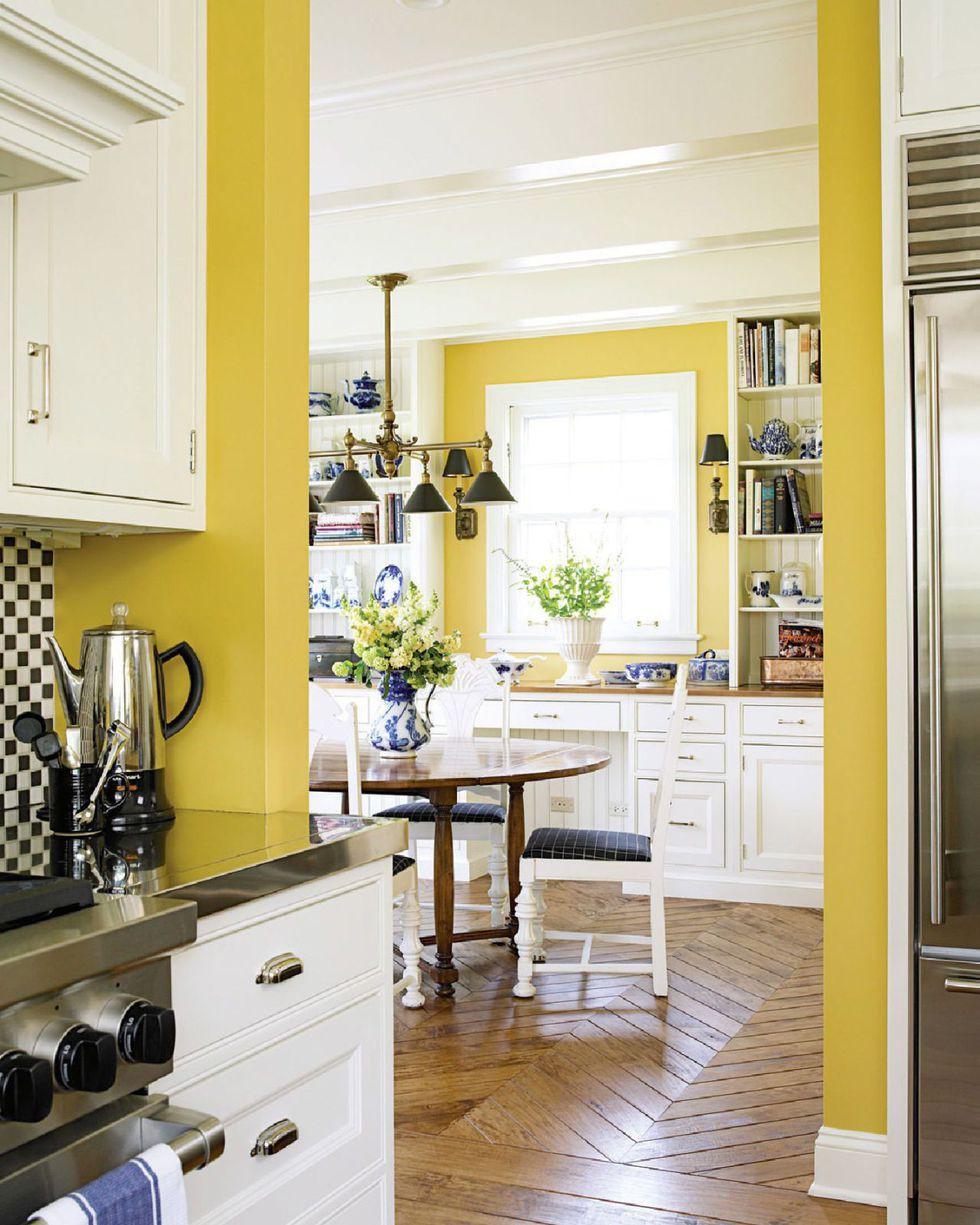 9 nhà bếp màu vàng bạn cảm thấy thích thú