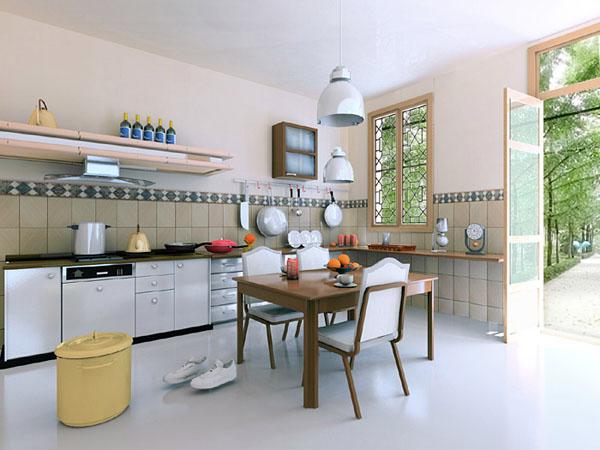 7 điều cần tránh khi bố trí phòng bếp