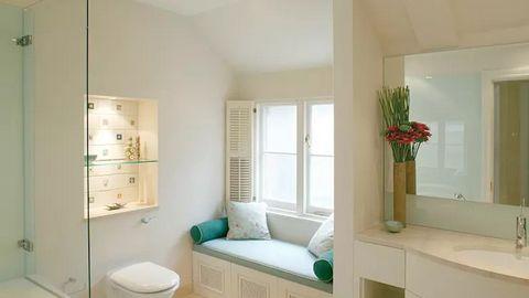 7 màu sơn đẹp cho nội thất phòng tắm hiện nay