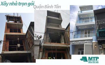 Xây nhà trọn gói tại Quận Bình Tân