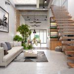 #4 ý tưởng thiết nội thất phòng khách nhà ống 2019