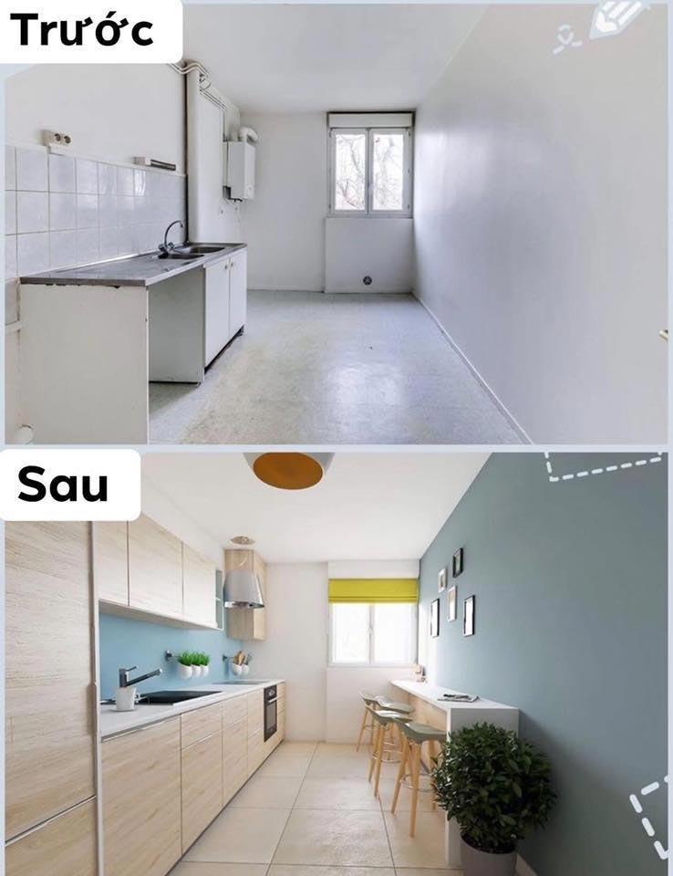 Cải tạo nội thất sửa nhà thành căn hộ cao cấp