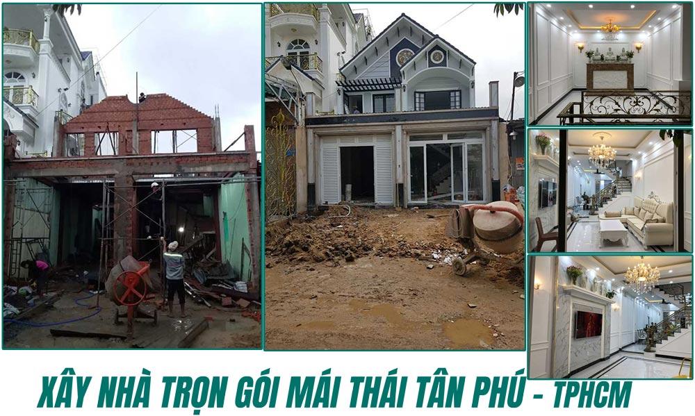 Xây nhà trọn gói quận Tân Phú