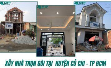 Xây nhà trọn gói tại Huyện Củ Chi TPHCM