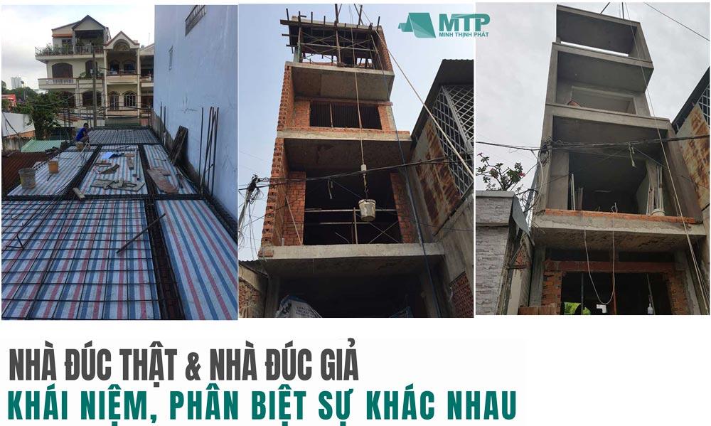 Nhà đúc thật 3 tầng ở TPHCM