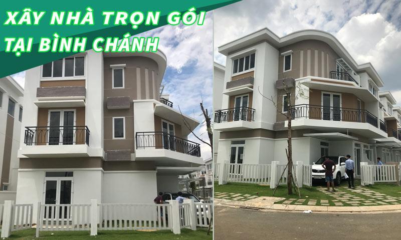 Báo giá xây nhà trọn gói tại Bình Chánh