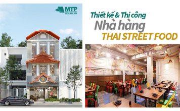 Thiết kế thi công nhà hàng Thai Street Food