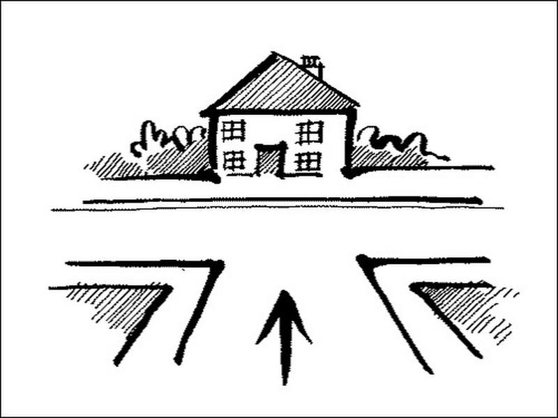 Nhà ở ngã 3 đường