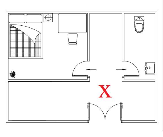 Vị trí nhà vệ sinh
